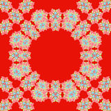 Bright red pattern Royalty Free Stock Image