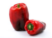 Bright red peppers Royalty Free Stock Photos