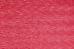 Bright red  rayon fabric Stock Image