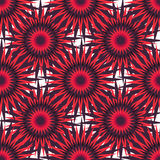 Bright red stars on a light background vector illustration Royalty Free Stock Photo
