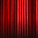 Bright red striped  background for a design Royalty Free Stock Photos