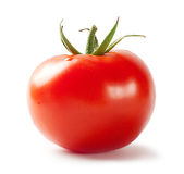 Bright red tomato Royalty Free Stock Images
