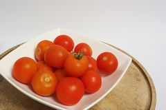 Bright red tomatoes Stock Image