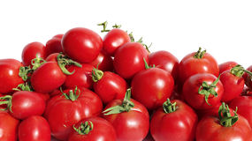 Bright red tomatoes isolated Royalty Free Stock Photo