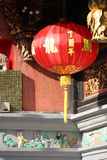 Bright red traditional Chinese lanterns, Singapore Royalty Free Stock Photos