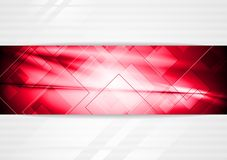 Bright red vector background Royalty Free Stock Photography