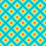 Bright Red, Yellow and Blue Abstract Pattern Royalty Free Stock Photos