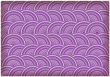 Bright retro circles background Royalty Free Stock Photos