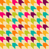 Bright retro seamless pattern Stock Images