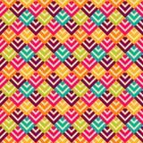 Bright retro seamless pattern Royalty Free Stock Photos