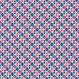 Bright retro seamless pattern Stock Photography