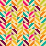 Bright retro seamless pattern Royalty Free Stock Photo