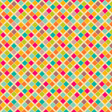 Bright retro vector seamless pattern Royalty Free Stock Photos