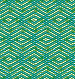Bright rhythmic textured endless pattern, green continuous creat Royalty Free Stock Photography