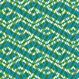 Bright rhythmic textured endless pattern, green continuous creat Royalty Free Stock Photo