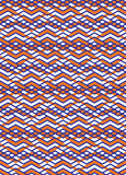 Bright rhythmic textured endless pattern, stripy continuous Royalty Free Stock Images