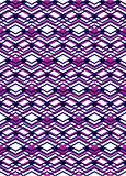 Bright rhythmic textured endless pattern, stripy continuous Royalty Free Stock Photos