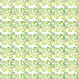 Bright ripe tasty delicious beautiful tropical summer desert kiwi fruit chopped and sliced pattern watercolor hand illustration. Perfect for menu, textile Royalty Free Stock Photos