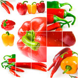 Bright ripe vegetables Stock Photo