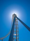 Bright Roller Coaster Royalty Free Stock Image
