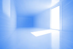 Bright room with window Stock Images