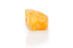Bright rough orange calcile Stock Photos