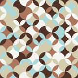 Bright round pattern. Based on Traditional Japanese Embroidery. Stock Image
