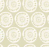 Bright rural seamless pattern. Fabric texture with decorative flowers Royalty Free Stock Images