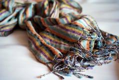 Bright scarf Stock Photo