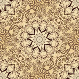 Bright seamless abstract pattern, mandala. Vector design template for art Stock Photo