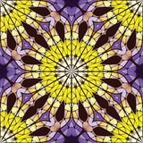 Bright seamless abstract pattern, mandala. Stock Photography