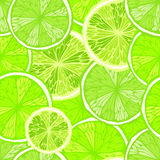Bright seamless background with limes Royalty Free Stock Photo