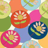 Bright seamless decoration pattern Royalty Free Stock Images
