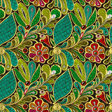 Bright  seamless ethnic pattern Royalty Free Stock Images