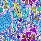 Bright  seamless ethnic pattern Stock Image