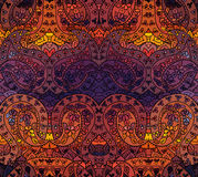 Bright seamless floral pattern Royalty Free Stock Photography
