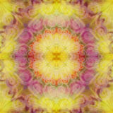 Bright seamless grunge colorful ethnic indian pattern. Collage with blots, petals, leaves and flowers. Batik Royalty Free Stock Photos