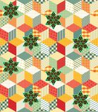 Bright seamless patchwork pattern. Vector illustration Stock Photo