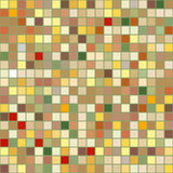 Bright seamless pattern background square tiles Stock Photos