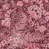 Bright seamless pattern in paisley style. Colorful floral background Stock Photo