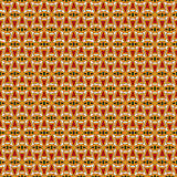 Bright seamless pattern with repeated geometric forms. Ornamental abstract background. Ethnic and tribal motifs. Stock Photography