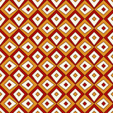 Bright seamless pattern with repeated geometric forms. Ornamental abstract background. Ethnic and tribal motifs. Royalty Free Stock Photos