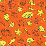 Bright seamless pattern. Royalty Free Stock Photo
