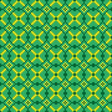 Bright seamless stitching pattern on a green background Stock Photography