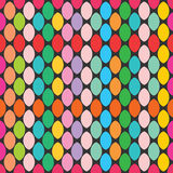 Bright seamless texture. Pattern of the elements vector illustration