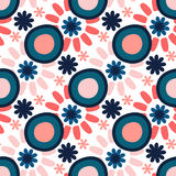 Bright seamless vector pattern. Texture for printing on fabric or paper background.  Stock Photography