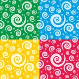 Bright seamless wallpaper Royalty Free Stock Photography