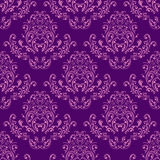 Bright  seamless Wallpaper - violet and pink. Royalty Free Stock Photography