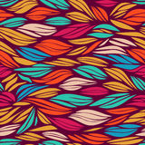 Bright seamless wavy pattern Royalty Free Stock Photos