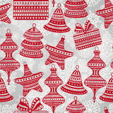 Bright Seamless Winter Pattern Royalty Free Stock Photos